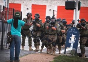 ferguson police brutality